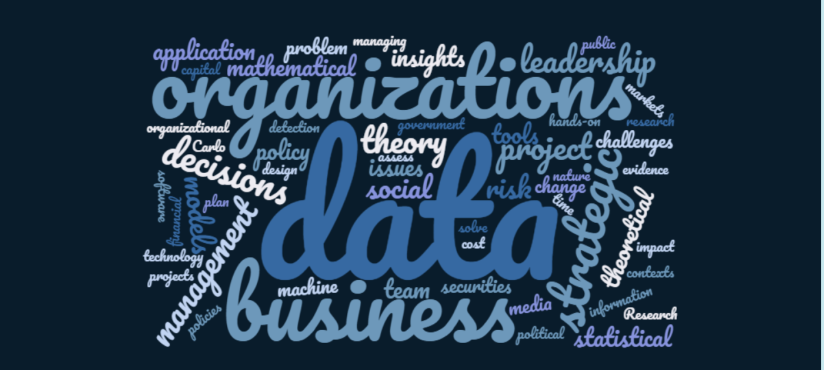 Course Description Word Cloud